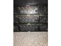 Citronic amps, formula sound mixer, behringer sound pro