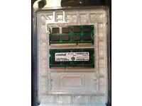 Ram Memory Crucial 4GB ddr3l-1333 sodimm memory for Mac