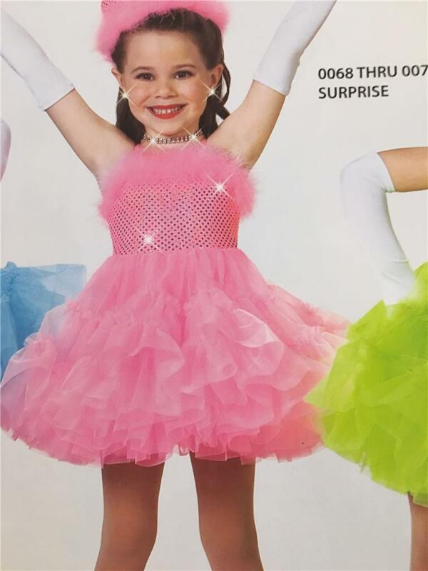 Dance Costume Ballet  Skate  Tap dress Surprise