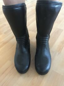 Ladies motorcycle boots size 6 - excellent condition