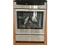 Neff single oven & warming drawer