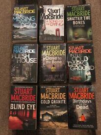 STUART MACBRIDE BOOK COLLECTION - Crime Fiction