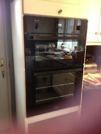 Double built in Stoves Gas Oven
