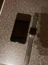 Apple iPhone 7plus & Apple 38mm watch