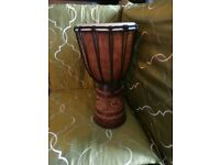 20 x 40 cm djembe drum from the one world shop in great condition.