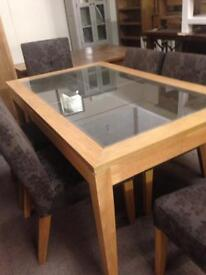 Dining table £150