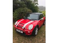 Beautiful Mini Cooper S Convertible - SOLD SUBJECT TO COLLECTION