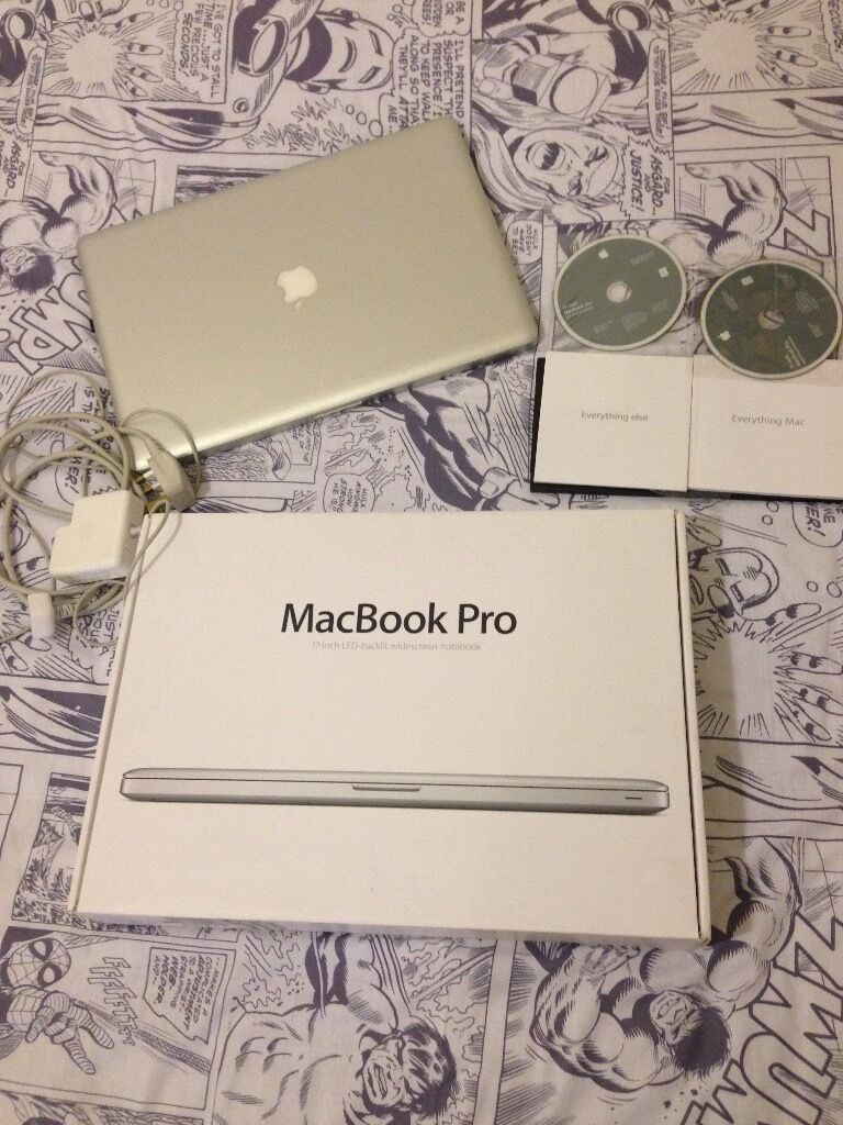 """APPLE MACBOOK PRO 17EARLY 2011, i7 PROCESSOR 8GB RAM, 750GB HDDin New Cross, LondonGumtree - APPLE MACBOOK PRO 17"""" EARLY 2011, i7 PROCESSOR 8GB RAM, 750GB HDD MacBook Pro (17 inch, Early 2011) Processor 2.2 GHz Intel Core i7, Memory 8GB 1333 MHz DDR3, Graphics Intel HD Graphics 3000 512 MB, Serial Number C02FD6VBDF92, with box, charger and..."""