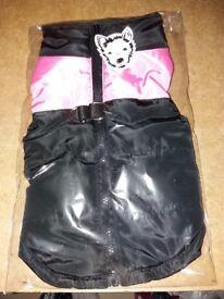 Brand new dogs small waterproof coat