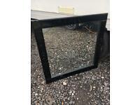 Lge black wall mirror