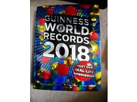 Guinness World Records Book 2018 Like New **REDUCED TO £2**