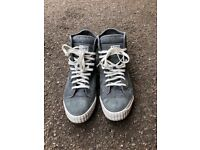 men g star trainers boots size 8 excellent condition