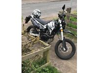 Sinnis apache 125cc road legal motorbike