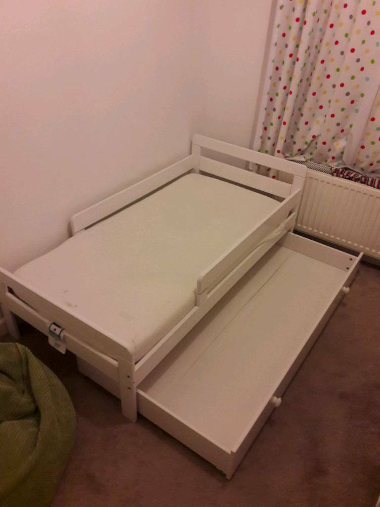 Toddler Bed With Storage Drawer And Mattress In Norwich Norfolk