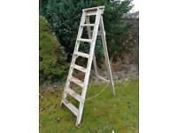 Vintage Pine Step Ladder