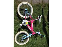 Raleigh Girls bike in excellent condition