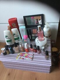 Make up and toiletries bundle