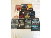 Set of 11 Rhona MacLeod novels by Lin Anderson