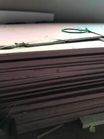 Huge half price fire plaster boards day sale.