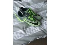 Nike Mercurial Soft Ground Football Boots Size UK 7