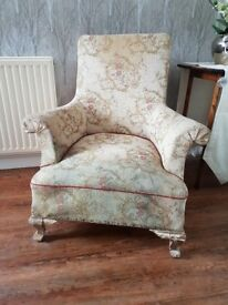 18th century french chair for refurb ideal for project and bedroom