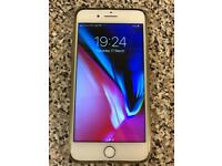 iPhone 7 Plus 32GB, unlocked, silver, good condition, full working.