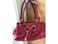Next Red Bag very good condition