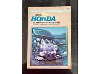 Clymer Manual for Honda GL1000 & 1100