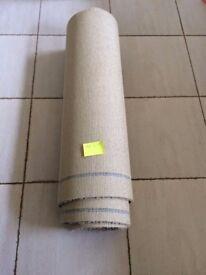 Brand New Unused Cream Carpet 4.6m x 0.9m