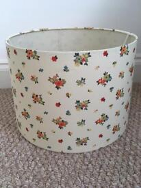 Pretty floral lamp shade