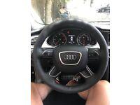 Car Steering Wheel Cover Sewing