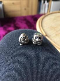 Genuine Pandora Charms - RETIRED - 'Monkey and Baby' and 'Panda Bear' (£50 both/£30 individual)