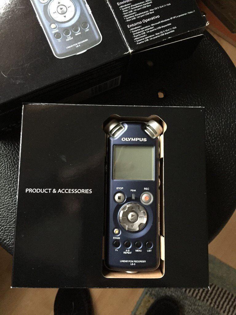 Olympus LS5 PCM Digital Recorder