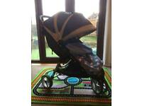 Baby jogger city minipushchair stroller buggy great condition plus extras