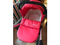 Baby elegance beep twist pushchair (red)