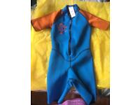 Child's wetsuit aged 6