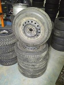 TOYOTA SIENNA WINTER TIRES AND RIMS MICHELIN 215/70R/16 FULL SET OF FOUR 215/70/16 MICHELIN X-ICE XI2 HONDA NISSAN MAZDA