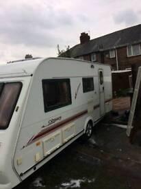 Elddiss odyssey 2003 4 birth caravan