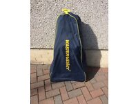 Wastemaster waste water container for caravan with cover