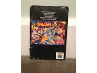 Super Smash Bros Instruction Manual N64