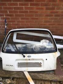 Nissan micra hatch