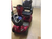 INVACARE LEO SCOOTER (RED)