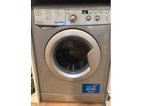Indesit Ecotime Washer Dryer / (IWDD7123S) / 7KG Load / Silver