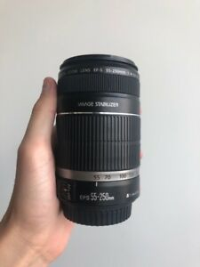 CANON Lens Telescopic EF 55-250mm 1:4-5.6