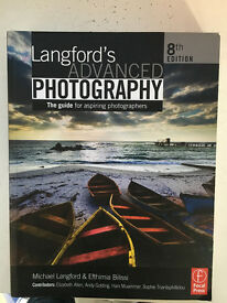 Langford's Advanced Photography - 8th Edition (Pristine condition & Free shipping)