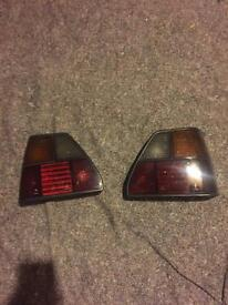 Smoked mk2 golf rear lights
