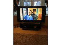 "Philips 42"" widescreen flat TV"