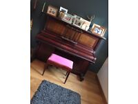 Piano and stool free if you uplift