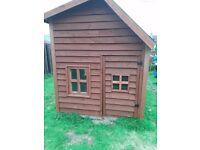 Childrens heavy duty playhouse / shed