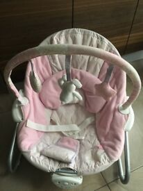 Babies R Us Bruin baby bouncy chair vibrations music